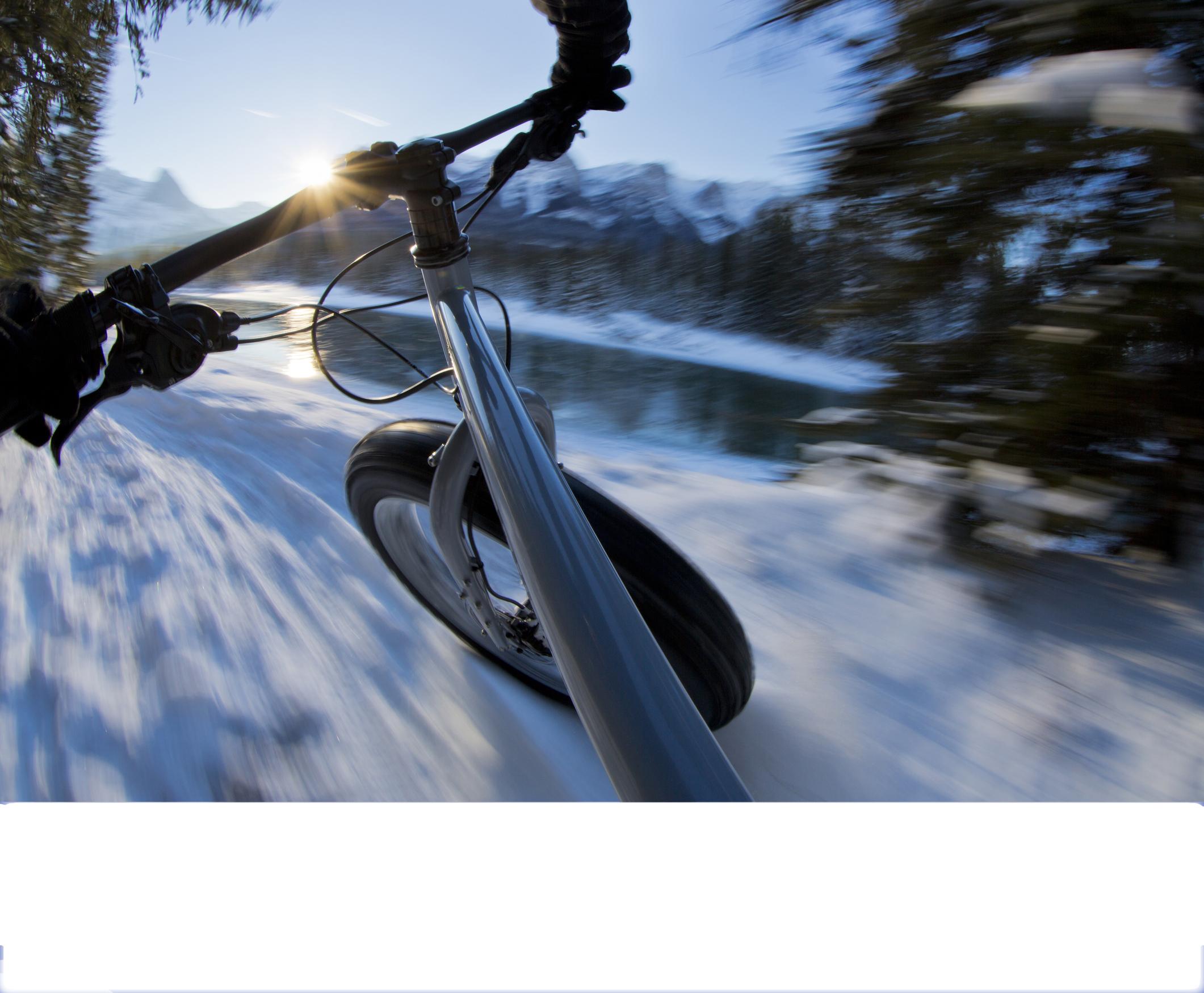 Fat-bike à Avoriaz