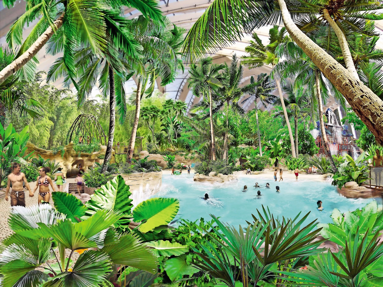 室内恒温水上乐园Aqua Mundo