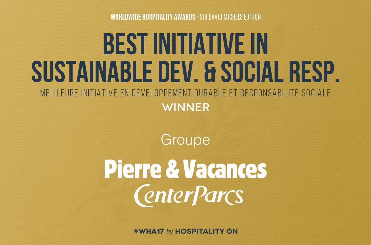 WHA最佳可持续发展与社会责任大奖