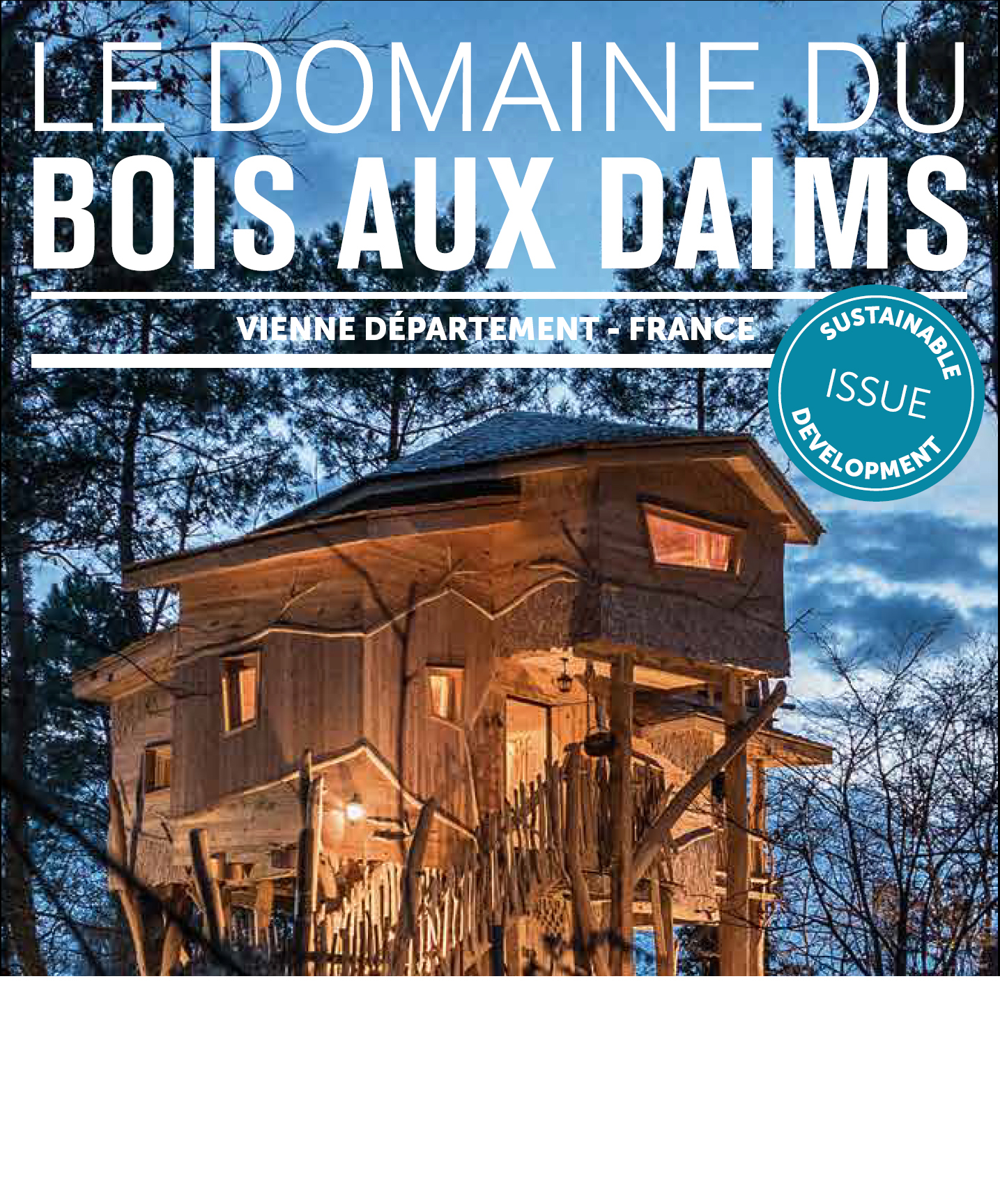 Broschüre nachhaltige Entwicklung - Center Parcs Bois aux Daims