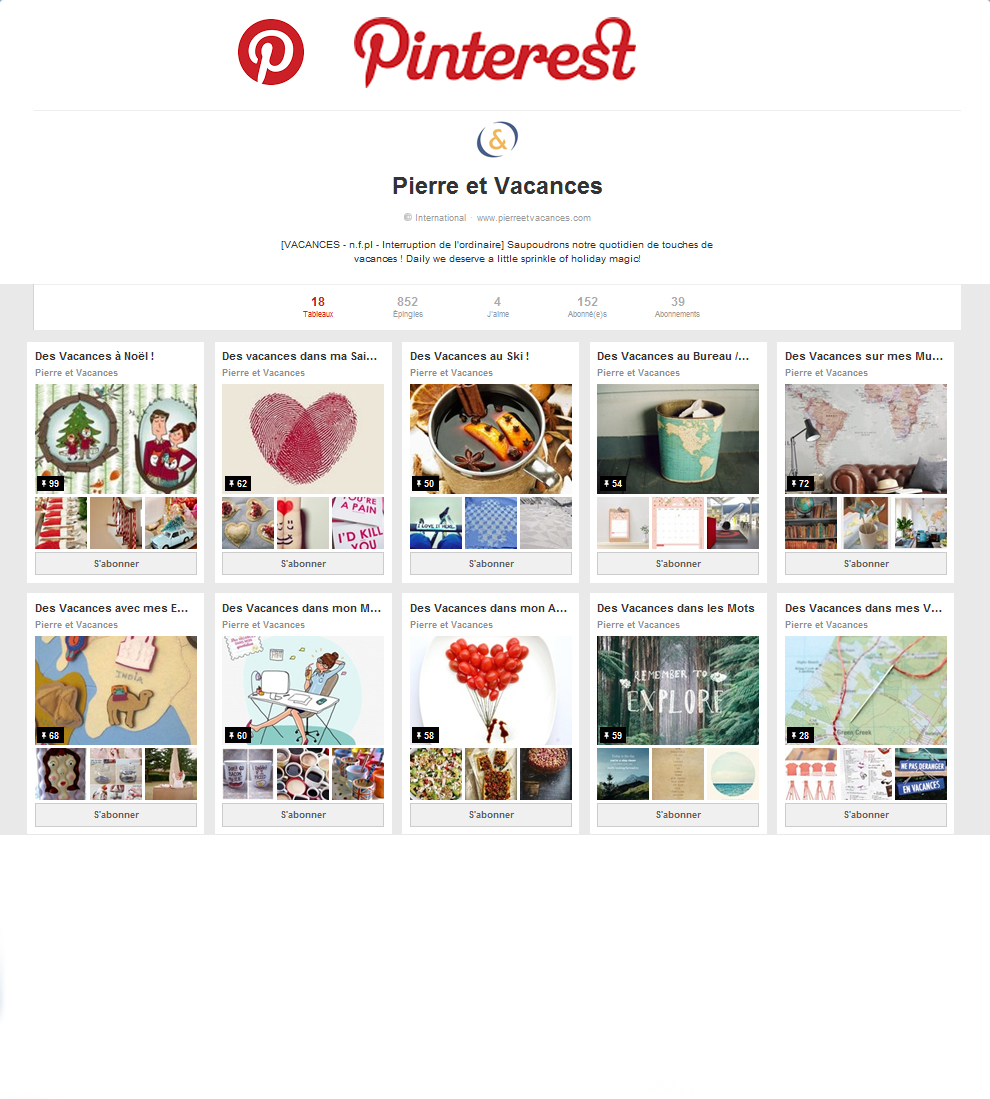 Pierre & Vacances on Pinterest