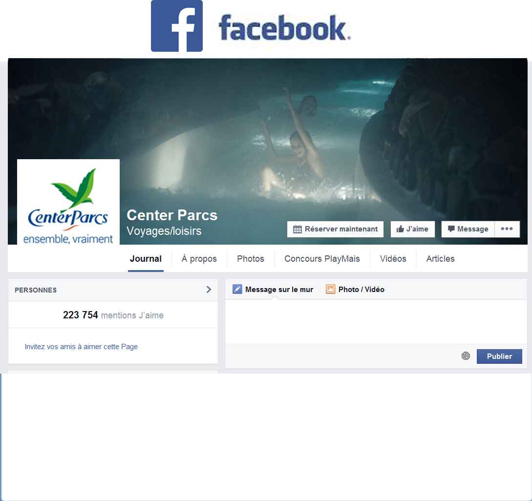 Ajoutez une pincée de vacances dans votre fil d'actu Facebook !