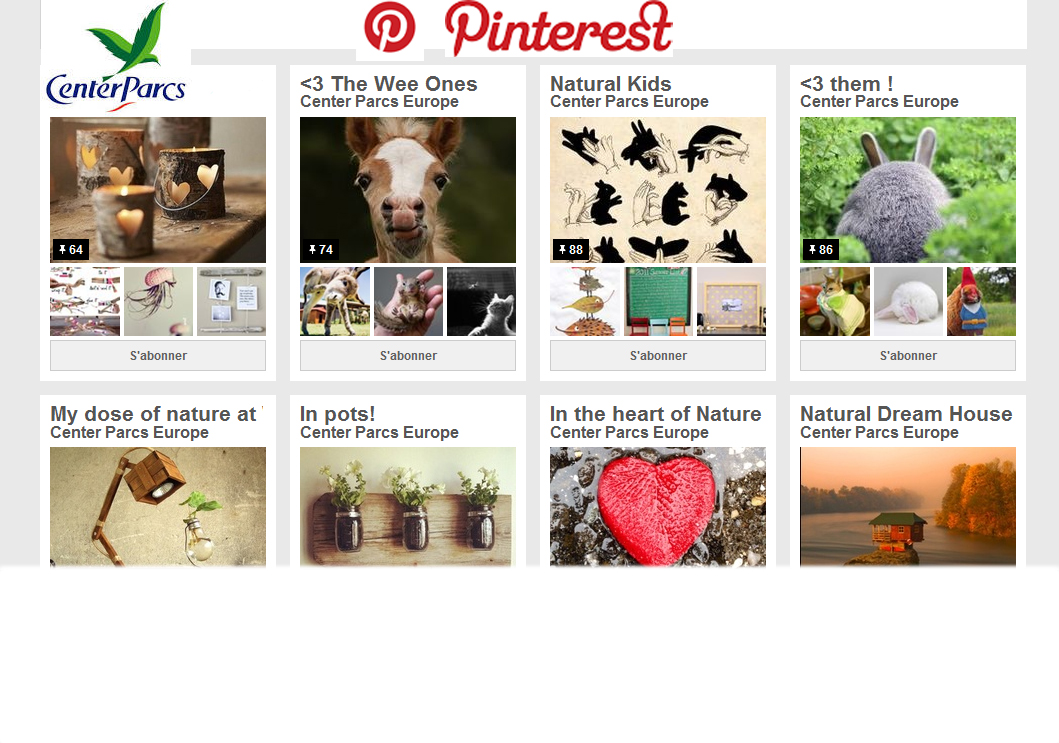Center Parcs op Pinterest