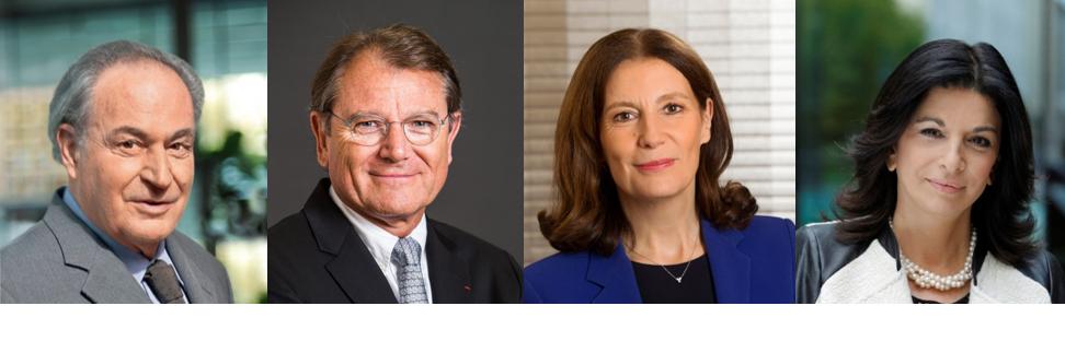Gérard Brémond, Yann Caillère, Patricia Damerval, Martine Balouka-Vallette.