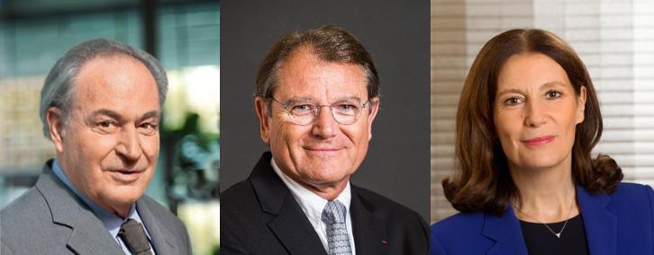 Gérard Brémond, Yann Caillère, Patricia Damerval