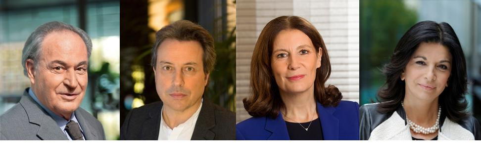 Gérard Brémond, Olivier Brémond, Patricia Damerval, Martine Balouka-Vallette.
