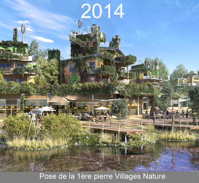 巴黎自然村庄奠基