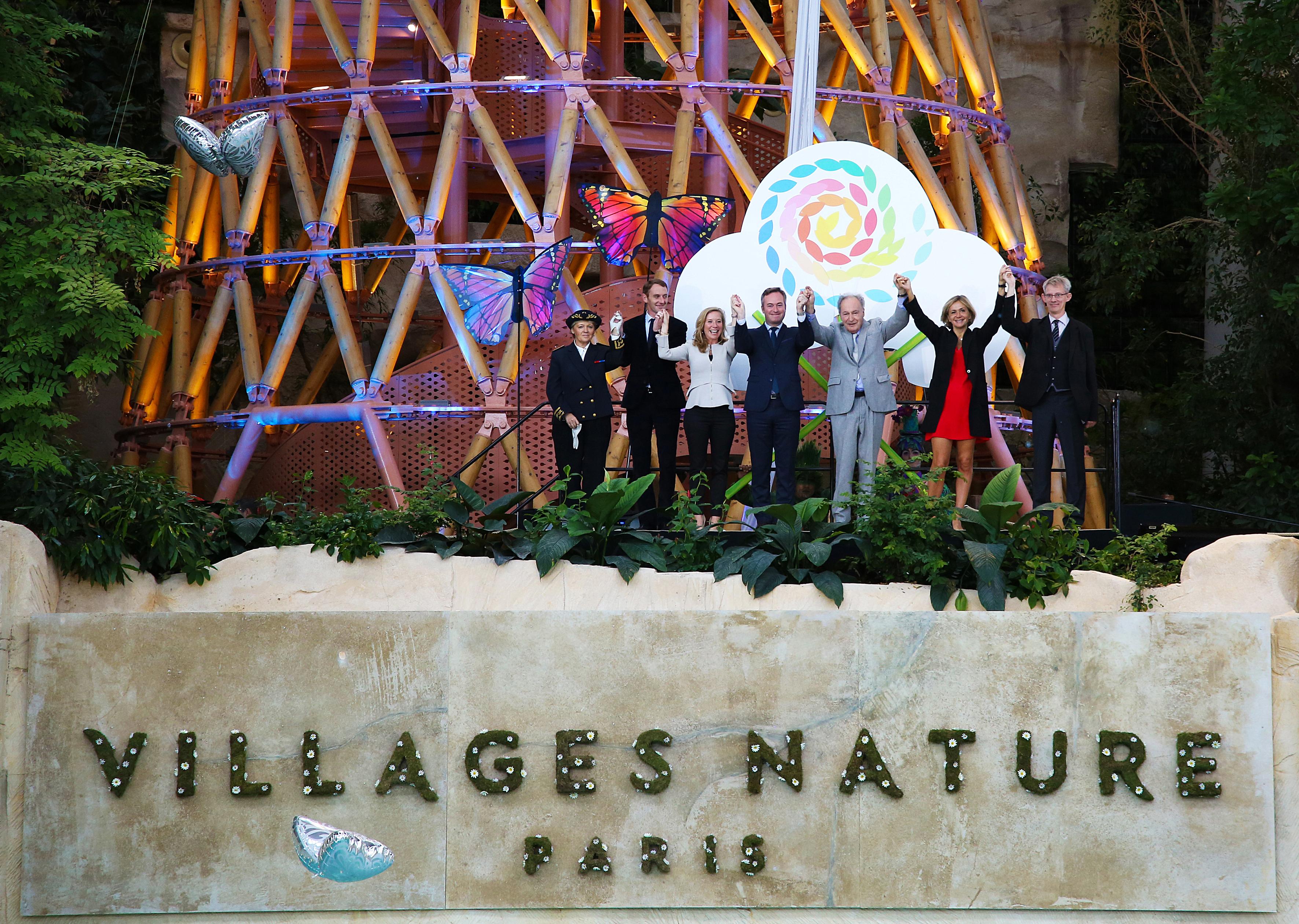 巴黎自然村庄开业