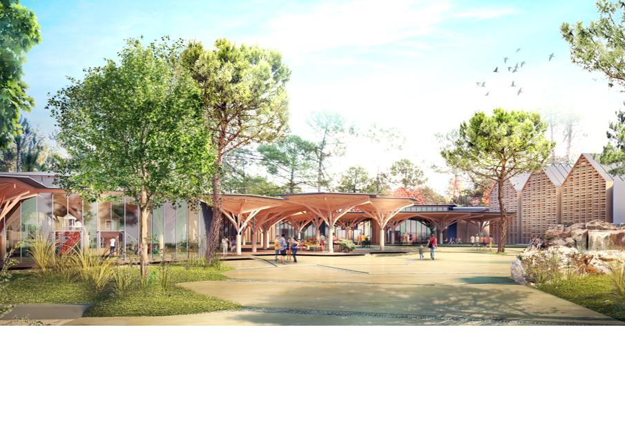 Center Parcs Domaine des Landes de Gascogne Project