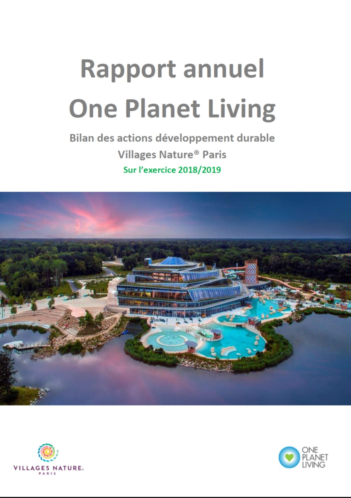 Rapport Annuel One Planet Living 2019
