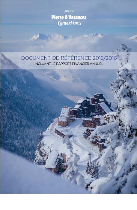 Document de référence 2015/2016