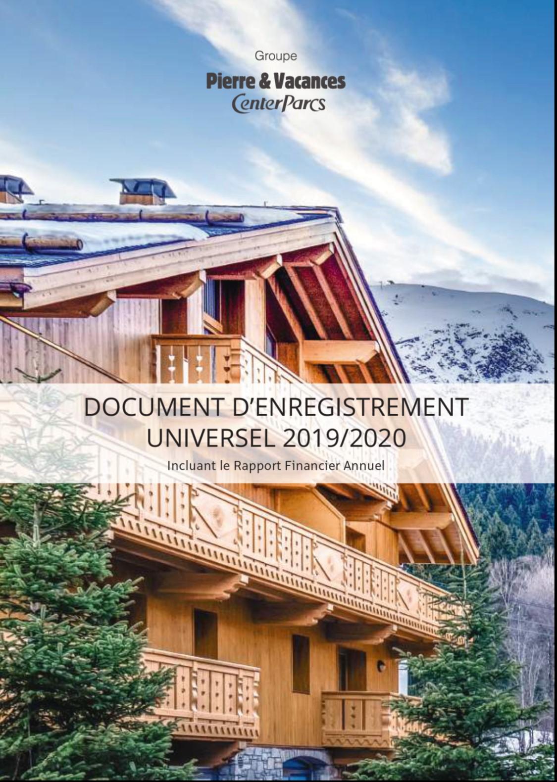 Document d'enregistrement universel 2019-2020