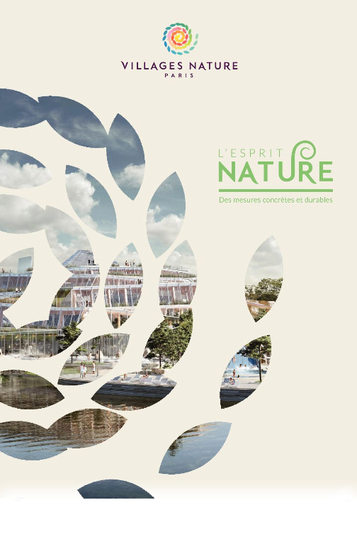 L'esprit nature de Villages Nature Paris