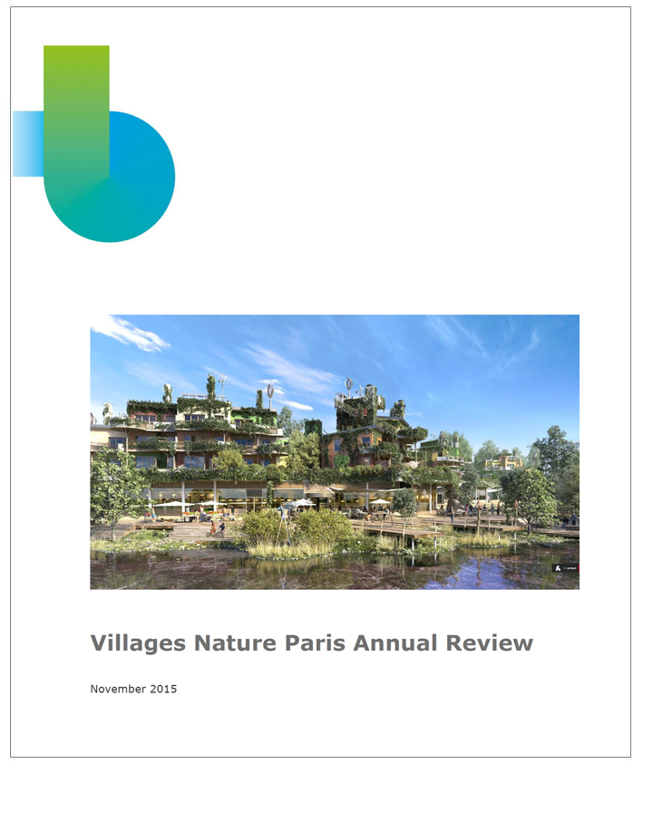 Annual review  Bioregional 2014-2015