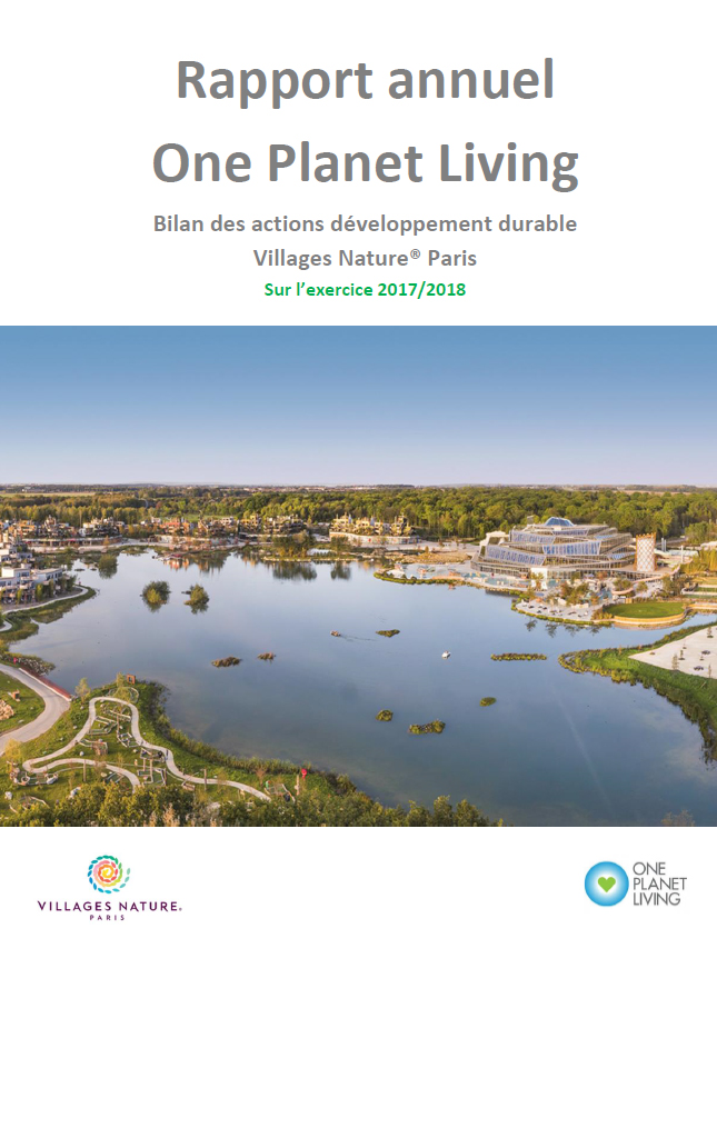 Rapport Annuel One Planet Living 2018